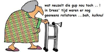 old-lady met looprek - n. rechts + tekst neuzelgup