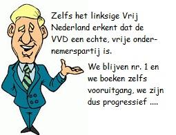 blauwe blazer VVD nr. 1