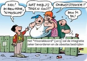 woonakkoord obesitas