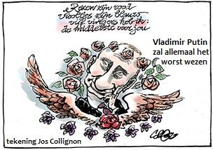 Collignon Putin-zal worst wezen