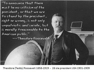 Pres. Teddy Roosevelt-!