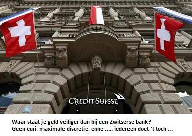 zo veilig als de Zwitserse bank