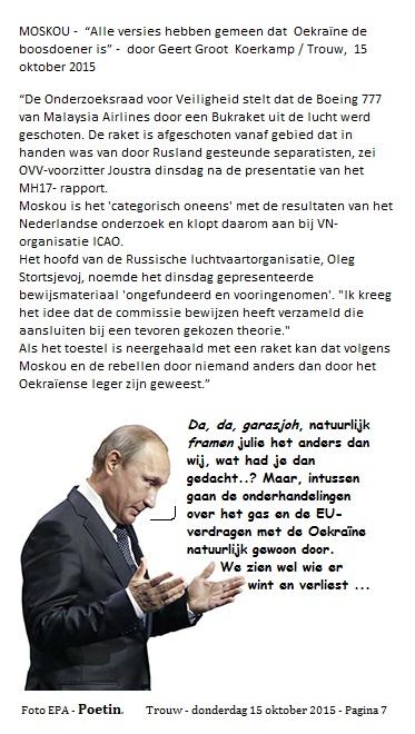 Putin-garasjoh tekst