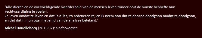 citaat Houllebecq