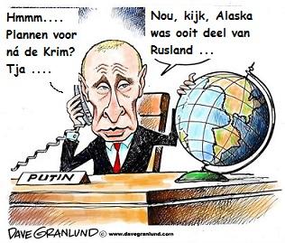 Dave Granlund Putin strateeg