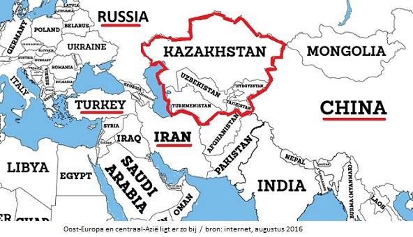 kaart centraal azië_Oost Europa